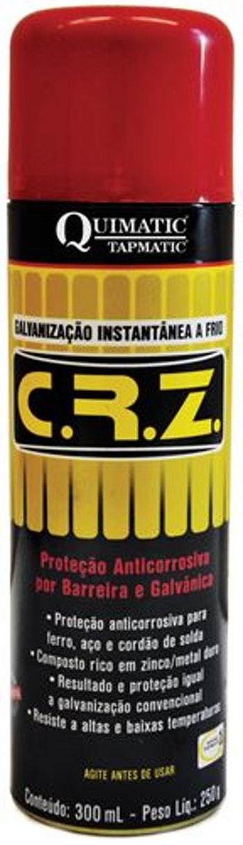 Galvanizador a Frio CRZ Spray DM1 300ml - Quimatic Tapmatic - DM1 - Unitário