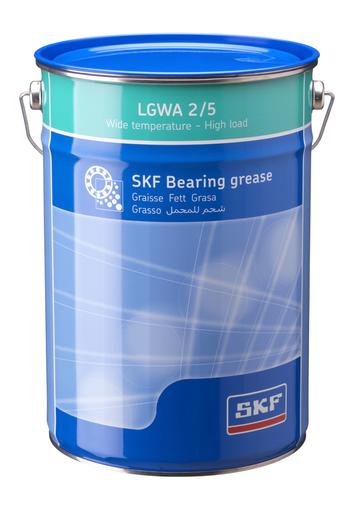 Graxa para carga elevada. pressão extrema e ampla faixa de temperaturas - SKF - LGWA 2/5 - Unitário