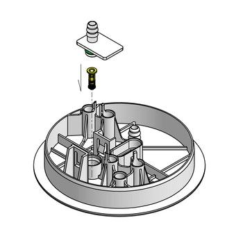Flange do Módulo de Combustível - DS Tecnologia Automotiva - 2409 - Unitário