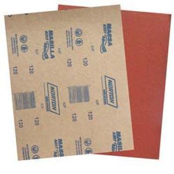 Folha de lixa massa A257 grão 120 - Norton - 05539503063 - Unitário