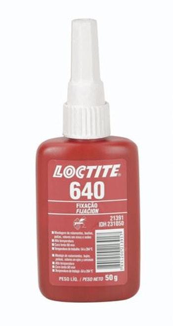 Adesivo Anaeróbico Fixação 640 50g - Loctite - 231050 - Unitário