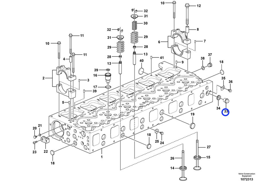 Volvo A35c Wiring Schematic