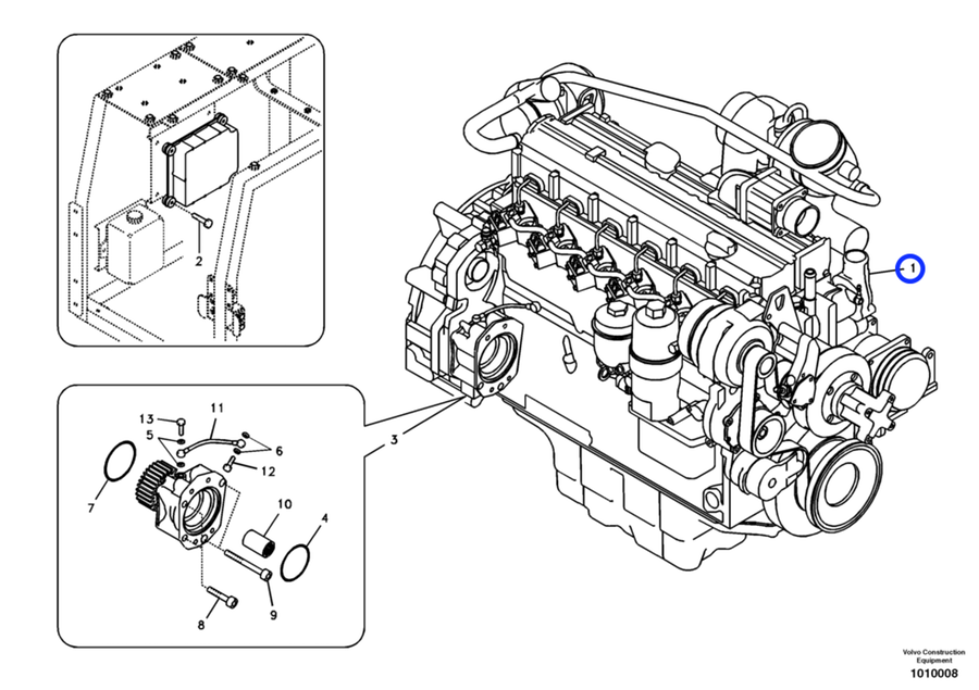 Volvo D6d Engine Diagram