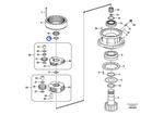 Anel de Contenção - Volvo CE - 14880960 - Unitário