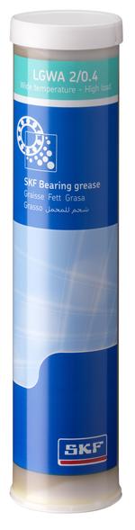 Graxa para carga elevada. pressão extrema e ampla faixa de temperaturas - SKF - LGWA 2/0.4 - Unitário