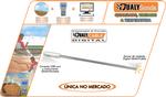 Sonda Inox de medição manual 1M tipo calagem QualyCable - Qualyagro - QualyAgro - 13657 - Unitário