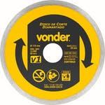 Disco de Corte V1 110 x 20mm para Mármore - Vonder - 12.68.100.000 - Unitário
