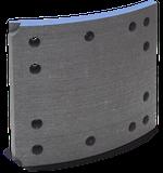 Lonas de Freio - NABK140 - Cobreq - 0815TX - Unitário