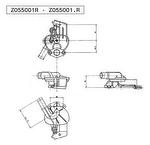 Válvula de Aquecimento - Valeo - Z055001R - Unitário