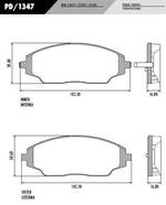 Pastilha de freio - Fras-le - PD/1347 - Par
