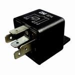 Relé Auxiliar Duplo Contato N.A com Resistor Iveco / Gm / Man / Trw - 24V 5 Terminais - DNI - DNI 0214 - Unitário