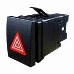 Interruptor de Luz de Emergência 12V 4 Terminais - DNI 2194 - DNI - DNI 2194 - Unitário