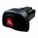 Interruptor Pisca Alerta Emergência Renault Megane 7700435867 - Chave Comutadora - DNI - DNI 2116 - Unitário