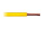 Cabo Flexível Amarelo Para Instalação Automotiva - DNI - DNI HFX 250-AM - Unitário