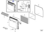 Kit de Filtro do Ar Condicionado - Volvo CE - 15082057 - Unitário