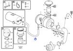 Mangueira da Admissão de Ar - Volvo CE - 11410083 - Unitário
