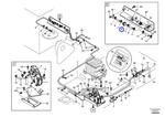 Filtro de Combustível - Volvo CE - 14509262 - Unitário