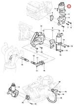 Válvula EGR - Original Chevrolet - 93335675 - Unitário