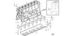 Bloco de Cilindros - Volvo CE - 21310867 - Unitário