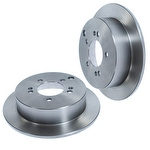 Disco de Freio Traseiro Sólido - Hipper Freios - HF325C - Par