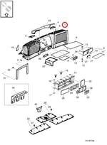 Prateleira de Armazenamento - Volvo - 82857970 - Unitário