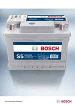 BATERIA DE PARTIDA - S5X 75E - Bosch - 0092S58155 - Unitário