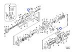 Pino do Sistema Hidráulico de Operação - Volvo CE - 8230-09790 - Unitário
