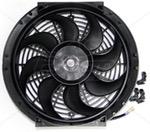 Ventoinha Universal Radiador / Condensador 12 Polegadas 12v (eletroventilador) - Coolparts - 10029123 - Unitário