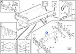 Anel Raspador REMAN - Volvo CE - 9017223520 - Unitário