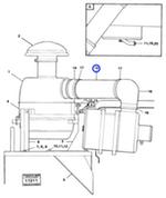 Mangueira do Filtro de Ar - Volvo CE - 4774789 - Unitário