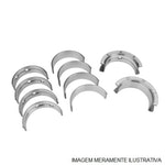 Bronzina do Mancal - Metal Leve - SBC545J 0,25 - Unitário