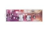 Kit Acessórios Light 5 Peças - Kelly Metais - 2704 CR - Unitário
