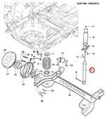 Amortecedor Traseiro - Original Chevrolet - 52096852 - Unitário