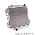 Radiador de Água - Equipado com Ar Condicionado - Alumínio Brasado - Notus - NT-1825.126 - Unitário