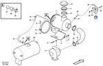Interruptor de Vácuo do Filtro de Ar - Volvo CE - 11039352 - Unitário