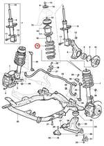 Mola dianteira - Original Chevrolet - 24406406 - Unitário