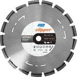 Disco diamantado para corte - asfalto Premium Clipper 350x25,4mm - Norton - 70184601438 - Unitário