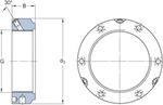 Porca de fixação de precisão - SKF - KMTA 10 - Unitário