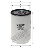 Filtro de Combustível - Hengst - H328WK - Unitário