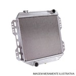Radiador de Água - Equipado ou não com Ar Condicionado - Alumínio Brasado - Notus - NT-1826.132 - Unitário