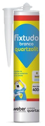 Fixtudo Branco 400g - Quartzolit - 0494.00000.0001PC - Unitário