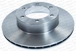 Disco de Freio Ventilado sem Cubo - Hipper Freios - HF 485 - Par