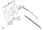 Mecanismo do Limpador - Volvo CE - 15098611 - Unitário