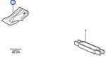 Dente - Volvo CE - 11111046 - Unitário