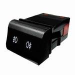 Chave Comutadora de Luz para Farol e Lanterna de Neblina Audi/Vw 5Z0941535 - 6 Terminais 12V - DNI - DNI 2175 - Unitário