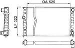 Radiador de Resfriamento - Valeo - 730505R - Unitário