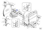 Tubo do Sistema Hidráulico - Volvo CE - 14541627 - Unitário