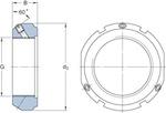 Porca de fixação de precisão - SKF - KMT 24 - Unitário