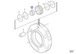 Rolamento de Agulhas - Volvo CE - 17213117 - Unitário