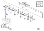 Haste de Pressão - Volvo CE - 21775020 - Unitário